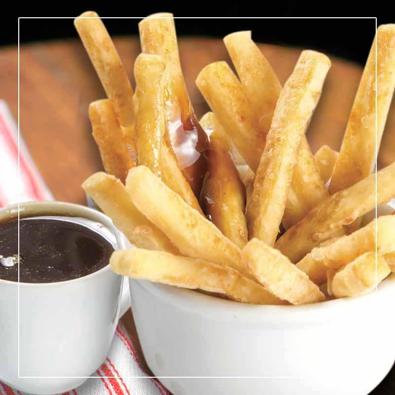 batata frita aperitivo