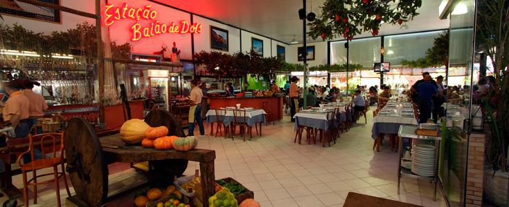 Interior do Restaurante em São Cristóvão